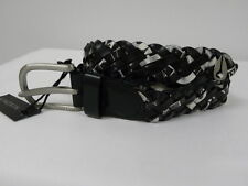 Nixon Wrap Black White XS/S Women Belt Surf Skate