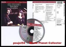 """SCHUBERT """"Sonata"""" SCHUMANN """"Fantaisies"""" (CD) Maisky1985"""
