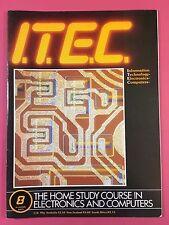 I. T. decir C 1980's electrónica & ordenador Tecnología REVISTA - PART 8
