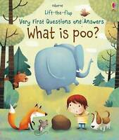 NEW  What is Poo? By Katie Daynes Board Book Free Shipping