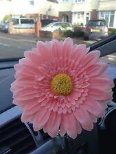 VW Beetle grandes Rosa Pálido Daisy GERBERA Flor de Bud Vase Universal Dash Board