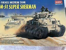 Academy 1/35 scale M51 Super Sherman Israeli Medium Tank