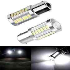 2PCS 33SMD BA15S P21W 1156 LED Car Backup Reverse Light White Bulb 5630 5730 12V