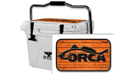 Skin Decal Wrap 24mil for Orca 20qt Cooler Lid sticker Redfish Orca Wood