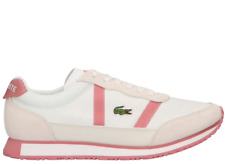 Lacoste Partner 419 1 Womens White Pink Comfort Fashion Sneakers 38SFA0025-B53