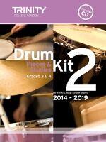 TRINITY DRUM KIT 2 2014-19 Grades 3-4 + CD*
