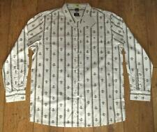 New Men's Oakley Long Sleeved Stretch Promenade Shirt Large Xlarge White