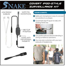 Quick Release Covert Snake Ipod-Style Earpiece for Hytera Pd782 Pd780 Pd581