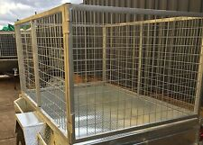 CAGE for Trailer Galvanized- 7x4x3ft (2135x1220x915)