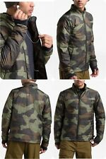 New The North Face Bombay Jacket Camouflage Print Men's Size Small Green Brown