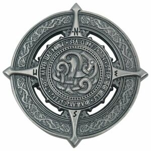 BEOWULF COMPASS ROSE Age of Heroes metal weight Handiwork Games Campaign Coins