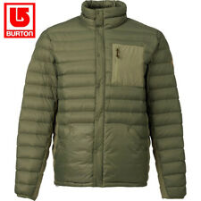 Burton Men's Evergreen Insulator Snow Jacket Olive L Waterproof Breathable DWR