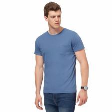 Red Herring Blue Pocket T-shirt XL Light Blue TD078 SS 03