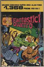 I FANTASTICI QUATTRO 4 corno 253 BATTAGLIA A BURBANK donna ragno nick fury hulk