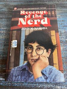 REVENGE OF THE NERD John McNamara Vintage Paperback 1984 Laurel Leaf Fiction