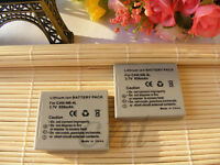 2 pack For Canon NB-4L NB4L Battery For IXUS80 100IS 110IS 220HS CB-2LVE