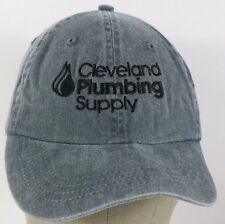 Blue Cleveland Plumbing Supply Embroidered baseball hat cap adjustable strap