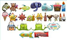 Happy Birthday Foil Balloon large range of designs and shapes