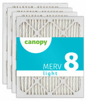 "Canopy Filter 16 1/2 x 21 1/2 x 1 MERV 8, 16 1/2"" x 21 1/2"" x 3/4"", Box of 4"