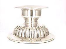Pequeño candelabro de plata de ley 925 Candelero Una Llama Candelero