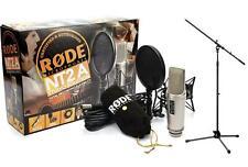 RODE NT2-A DOPPEL GROSSMEMBRAN STUDIO MIKROFON KONDENSATOR MIC KUGEL NIERE ACHT