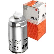 Original MAHLE / KNECHT Kraftstofffilter KC 18 Fuel Filter
