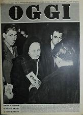 OGGI N°9/2/MAR/1950 Tentano di richiamare un volto o un nome ai reduci ATOATESIN