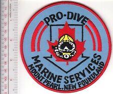 SCUBA Hard Hat Diving Canada Pro-Dive Marine Services Mount Pearl, Newfoundland