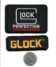 2X GLOCK PERFECTION ARMORER FIREARMS RIFLE PISTOL SHOTGUN PATCHES-MICHIGAN DEER