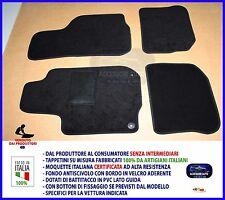 Tappetini Golf 4 97>2003 Tappeti per Volkswagen antiscivolo su misura set auto