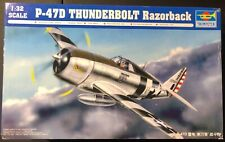 Trumpeter P-47D Thunderbolt Razorback 1/32 NIB Model Kit 'Sullys Hobbies'