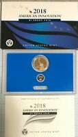 2018-S $1 American Innovation Proof Coin with Washington's Signature