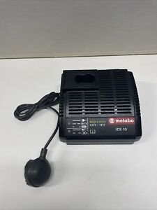 Metabo 4.8-18v NICD & NiMH Power Tool Battery Charger ICS10 VERY GOOD CONDITION