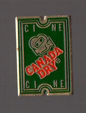 Pin's Canada Dry - Ciné / Ticket de cinéma