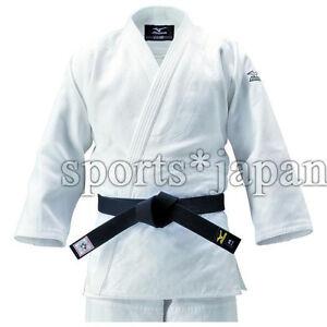 Mizuno JAPAN Judo gi Jacket Judogi YUSHO 2019 Double Weave Model 22JM6A8201