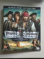 Pirates of the Caribbean: On Stranger Tides 3D Edition Bluray Insert Cover Art