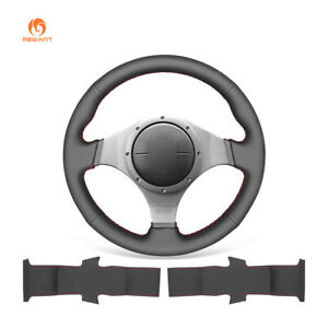 PU Leather Steering Wheel Cover for Mitsubishi Lancer Evolution 2003-2007