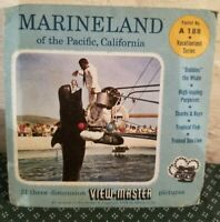 View Master A188 Marineland of the Pacific 3 Reel Set