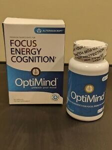 AlternaScript OptiMind Enhanced Brain Booster Focus Energy Supplement Pill