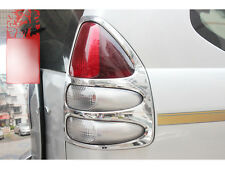 abs chrome Rear tail light cover 2pcs For Toyota Prado Fj120 2003-2009 2008 2006
