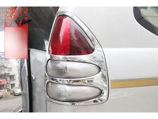 abs chrome Rear tail light cover 2pcs For Toyota Prado Fj120 2003-2009 2008 2006