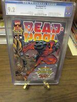 Deadpool 1 CGC 9.2