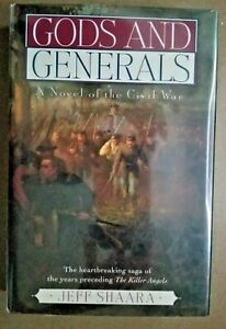 """""""Gods and Generals"""" by Jeff Shaara - SIGNED 1st"""