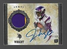 2012 Topps Five Star Jarius Wright Rookie Patch Auto /300