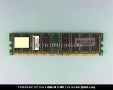 HP 175925-001 DDR 512MB PC-2100 Non ECC 266Mhz RAM Memory