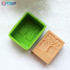 New Happy Tree/Life Tree Silicone Soap mold Craft Molds DIY Handmade soap mould