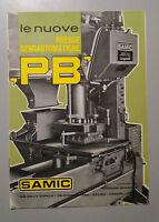 Brochure Leaflet Years 70 Ditta Samic Firenze - Balers Semiautomatic