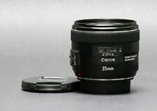 Canon EF 35mm f/2.0 IS USM Wide Angle Lens, Great for Video & Sharp, Free Ship