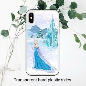 Disney Elsa Frozen Princess Case Cover for iPhone Samsung Huawei Google