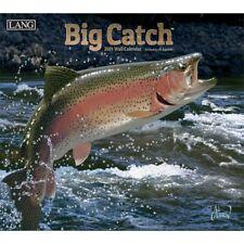 2019 Lang Big Catch Wall Calendar by Al Agnew NEW